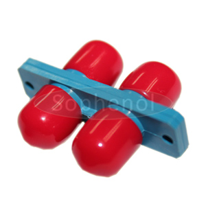 FC-FC Singlemode Duplex Plastic Fiber Optic Adapter