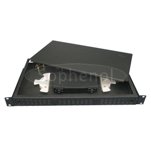 1U Fixed Fiber Optic Patch Panel, LC/SC/ST/FC Ports Available