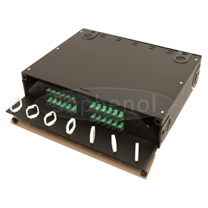 2U Premium Sliding Patch Panel with Rall, LC/SC/ST/FC Ports Available