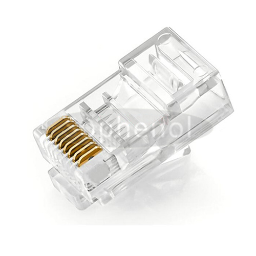 CAT.5E 8P8C Modular Plug Unshielded For Solid Cable