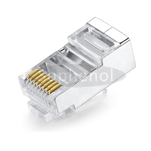 CAT.6 8P8C Modular Plug Shielded