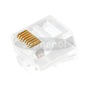 CAT.6 8P8C Modular Telephone Plug Unshielded Short Body