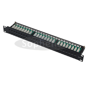 CAT6 UTP 48 Ports Patch Panel Horizontal Punch Down