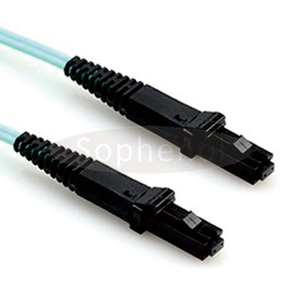 MTRJ - MTRJ OM3 10G 50/125 Duplex Multimode OFNR Fiber Patch Cable