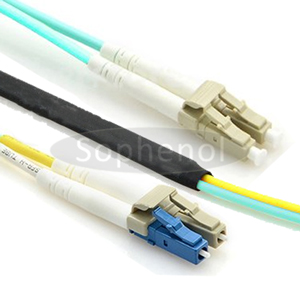 OM3/OM4 Mode Conditioning Cable 2xLC 50/125 To 1xLC 9/125 & 1xLC 50/125