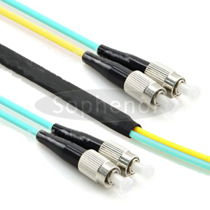 OM3/OM4 Mode Conditioning Cable 2xFC 50/125 To 1xFC 9/125 & 1xFC 50/125