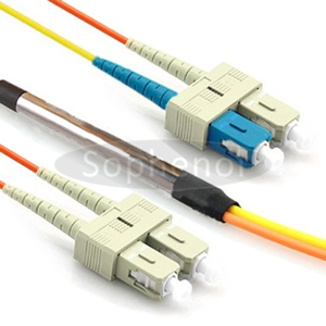 Mode Conditioning Cable 2xSC 62.5/125 to 1xSC 9/125 & 1xSC 62.5/125
